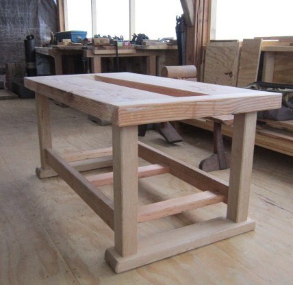 sturdy work table plans